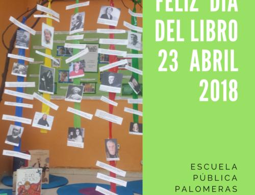 FELIZ  DÍA  DEL  LIBRO  23  ABRIL 2018