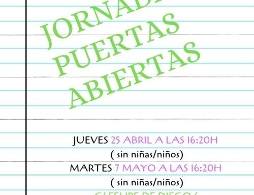 JORNADAS PUERTAS ABIERTAS 2